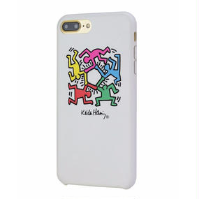 Keith Haring Collection PU Case for iPhone 7 Plus (Hexagon Figs)