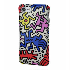 Keith Haring Collection TPU Case for iPhone 7 (Chaos)
