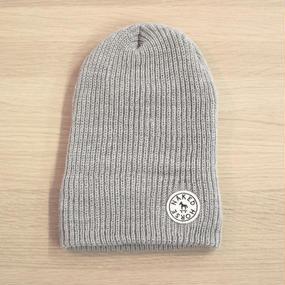 Wappen Knit Cap Gray