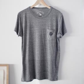 【SALE】Pocket Tshirts Heather Gray