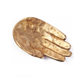 Bronze Decorative Hand Dish (ブロンズハンドプレート)
