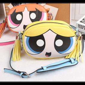 【Back In Stock!!再入荷】Power Puff Girls  Viny  Shoulder Bag (パワーパフガールズ バブルス ショルダーバッグ)