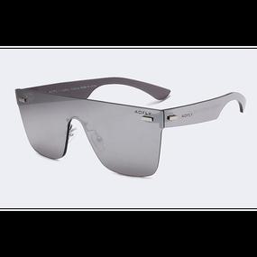 【5色】Futuristic Square Mirrored Sunglasses (スクエアーミラードサングラス)