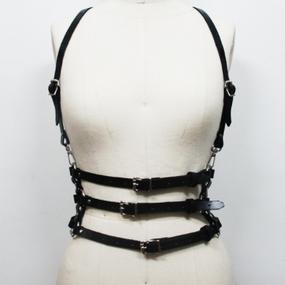 "Valentina Leather Harness Belt (レザーハーネス ベルト""ヴァレンティーナ"")"