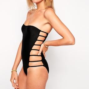 Sexy Side Bandeau Swimsuit(ワンピースタイプ・サイドバンドゥ水着)
