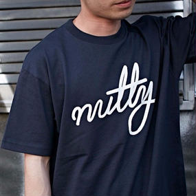 nutty clothing / NUTTY LOGO T-SHIRT