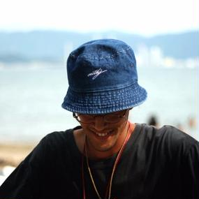 "nutty clothing  / BACKET HAT ""DENIM"""