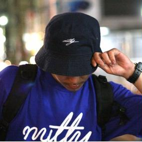 "nutty clothing / BACKET HAT ""NAVY"""