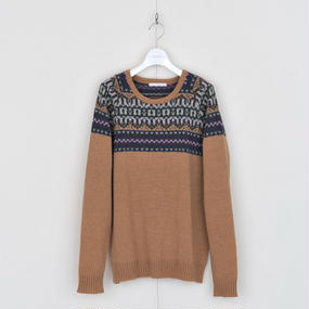 DISCOVERED NORDIC SWEATER