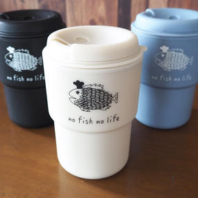 さかなを+なむマグ no fish no life plus sakana project original wall mug demita