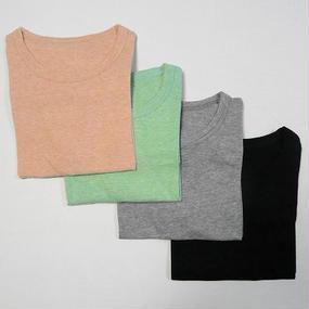 カチオン天竺半袖Tシャツ (サイズ2)