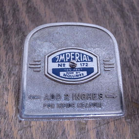 Germany Vintage Steel Tape Measure