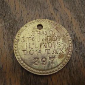 1929 Dog Tag :No.397