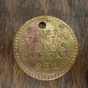 1929 Dog Tag :No.251