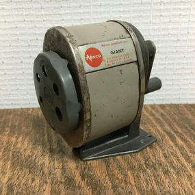 Vintage Apsco GIANT Pencil Sharpener