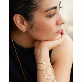 Arch bracelet - Silver / Gold