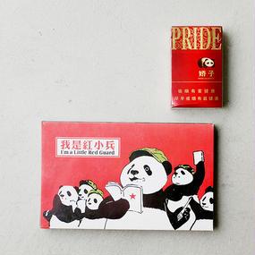 CHINA PANDA SET from CHINA by KAZUMI KUDO