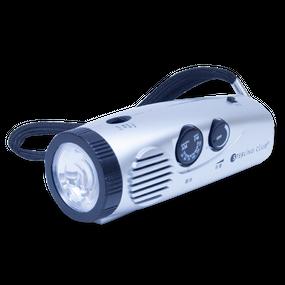 ライト付ラジオ