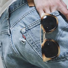 Marble design sunglasses