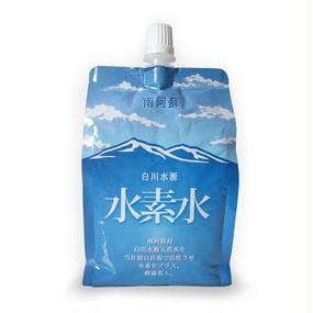 [送料無料] 熊本県南阿蘇村 白川水源天然湧水で作った水素水(300mL x 6パック入り)お試し価格1本200円