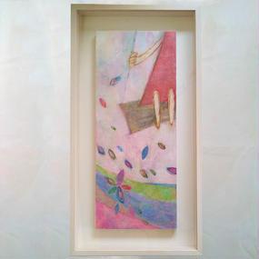 YM005「空中ブランコ」山路絵子