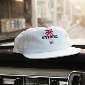 PUTRA PALM HAT - WHITE