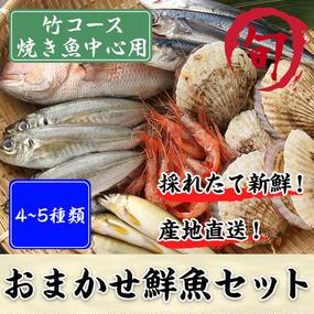 鮮魚セット 竹コース(焼き魚中心用)