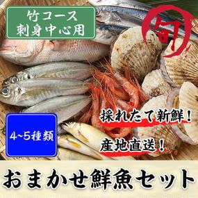 鮮魚セット 竹コース(刺身中心用)