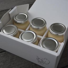 ニホンミツバチのはちみつプリン(6個入り)
