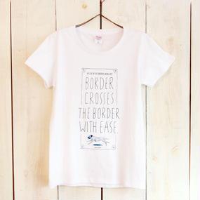 CROSS THE BORDER Tシャツ