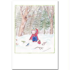 ポストカード・飯豊の空の下から・・・  「ある冬のこと」
