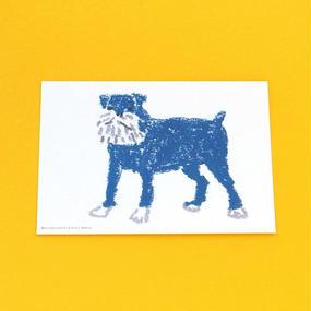 ポストカード動物3/イヌ