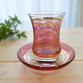 ch6  ★素敵なチャイグラスでティータイムも楽しく!トルコ チャイグラス