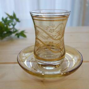 ch5  ★素敵なチャイグラスでティータイムも楽しく!トルコ チャイグラス