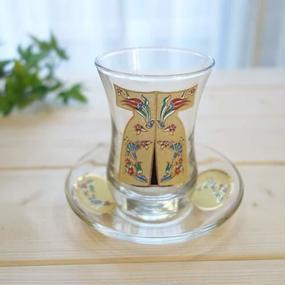 ch3  ★素敵なチャイグラスでティータイムも楽しく!トルコ チャイグラス