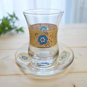 ch2  ★素敵なチャイグラスでティータイムも楽しく!トルコ チャイグラス