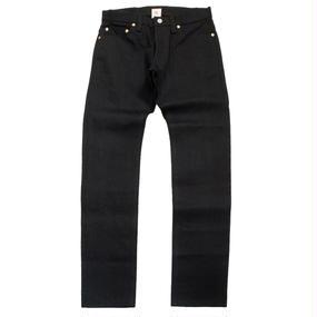 Basic Straight Jeans - Black x Black -