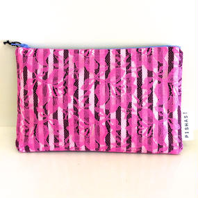PISHAS!  Race Pouch Pink