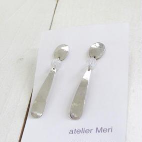 atelier Meri / スプーンピアス (シルバー)