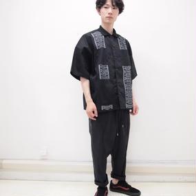 elephant TRIBAL fabrics キューバシャツ