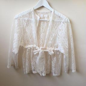 nono Lace gown white