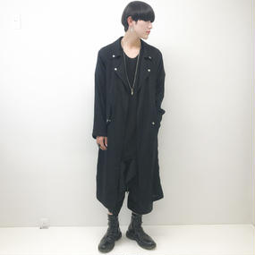 SHINICHI SUMINO zipper coat