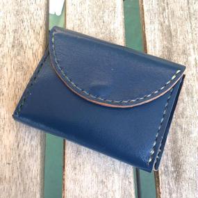 hanaqoota COIN CASE(blue/black/brown)