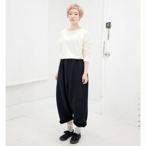 SHUTTLE wide pants black