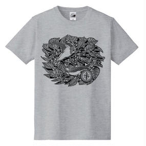 Route of Migratory T-shirt (GY×BK)