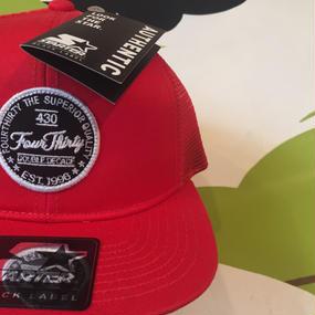 430 SF MESH CAP(color.RED)