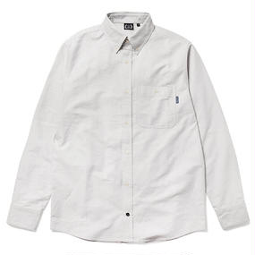 430 L/S OX SHIRTS(Color : GRY  Size : 0 )