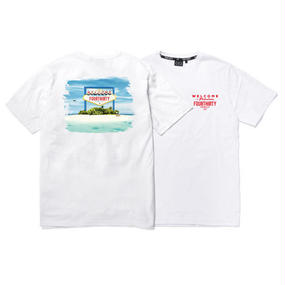 WELCOME S/S TEE (WHT)