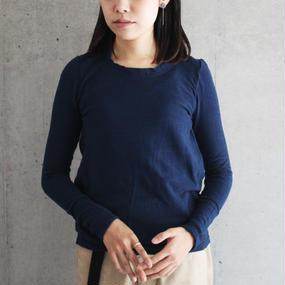 【twine】コットンカットソー / ブルー