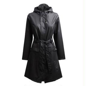 【RAINS】カーブジャケット / ブラック